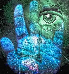 visualization-hand-eye