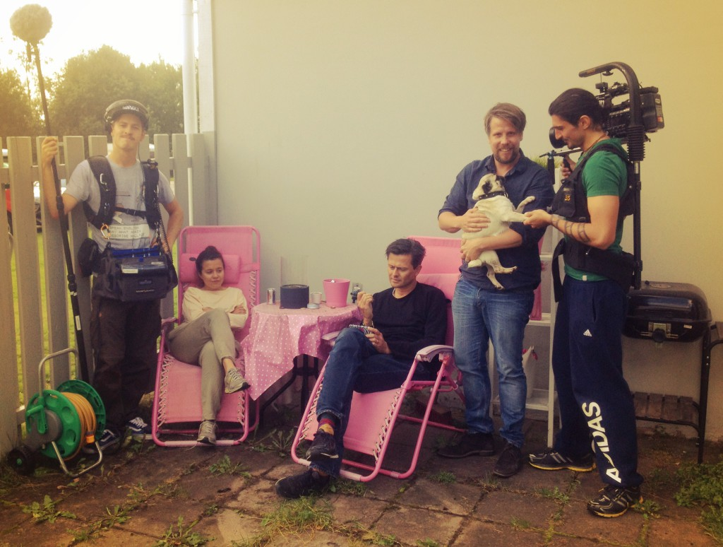 Gab filmar Filip & Fredrik